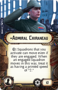 Gladiator Class Star Destroyer - Admiral Chiraneau