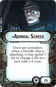 Gladiator Class Star Destroyer - Admiral Screed