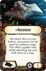 Gladiator Class Star Destroyer - Insidious